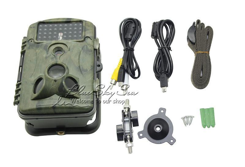 Free Shipping RD1000 12MP PIR Night Vision IR Game Hunting font b Trail b font Security