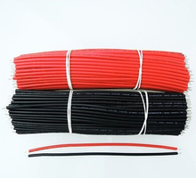 Free Shipping 50pcs 50pcs pcb solder cable 26AWG 20cm Fly jumper wire cable Tin Conductor wires