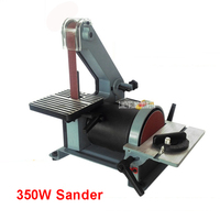 762 Belt Sander Sanding Machine Woodworking Metal Grinding Polishing Machine Reblower Chamfering Machine 350w Copper Engine