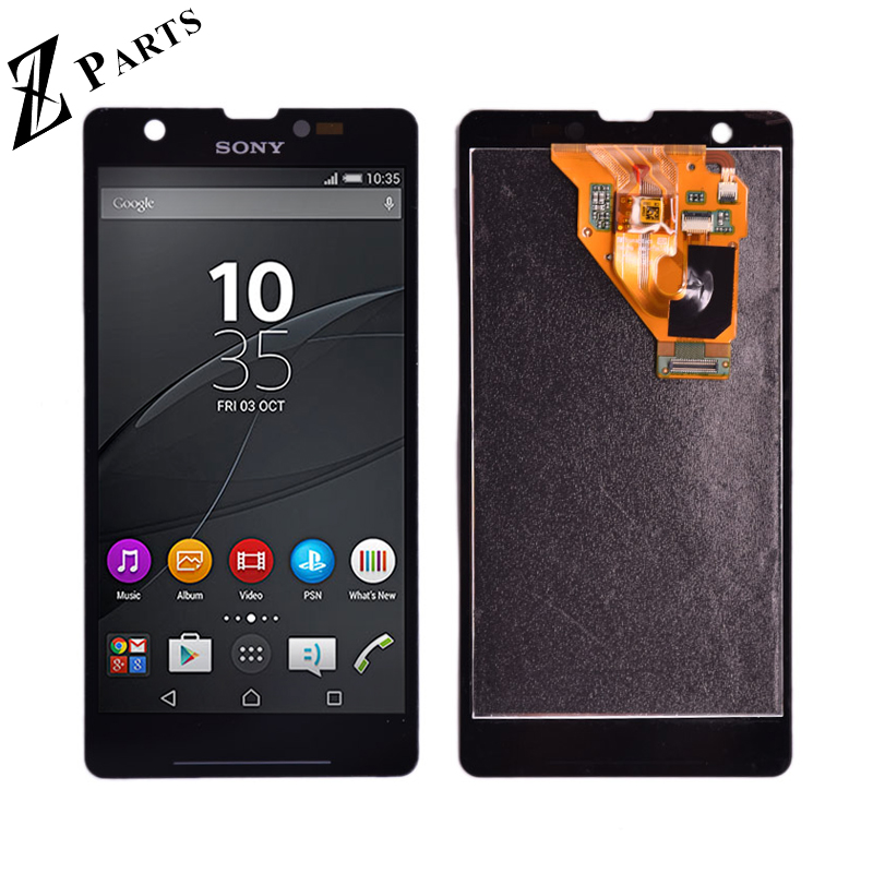 Original For Sony Xperia ZR M36h C5503 C5502 LCD Display With Touch Display Digitizer Assembly Free Shipping