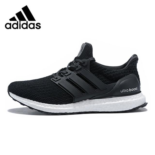 0b0b59687f6b Adidas Ultra Boost 4.0 UB 4.0 Popcorn Running Shoes Sneakers Sports Black  White for Men BB6166 40-44 EUR Size M