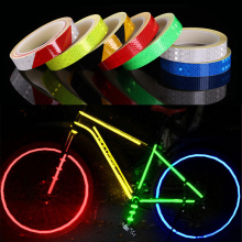 Waterproof Bike Stickers Wheel Rim Reflective Decals Securit