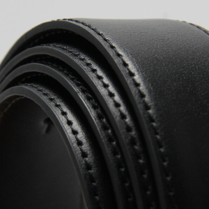 Image 5 - Luxo couro cinto masculino placa fivela reversível masculino casual alta qualidade cintos dropship fornecedores preto marrom