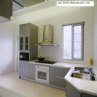Melamine Mfc Kitchen Cabinets LH ME002
