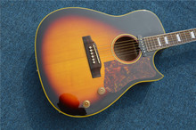2013 M CUSTOM Artist Acoustic Guitar in stock HOT Free shipping in yellow #91100% Excellent Quality100% Excellent Quality