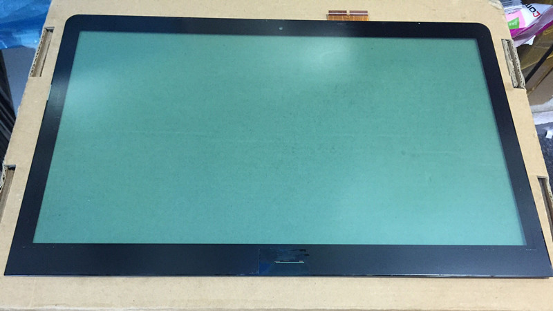"Original A+15.6"" For Sony Vaio SVF15A Series Laptop Touch Screen Glass Lens Panel With Digitizer Replacement Parts"
