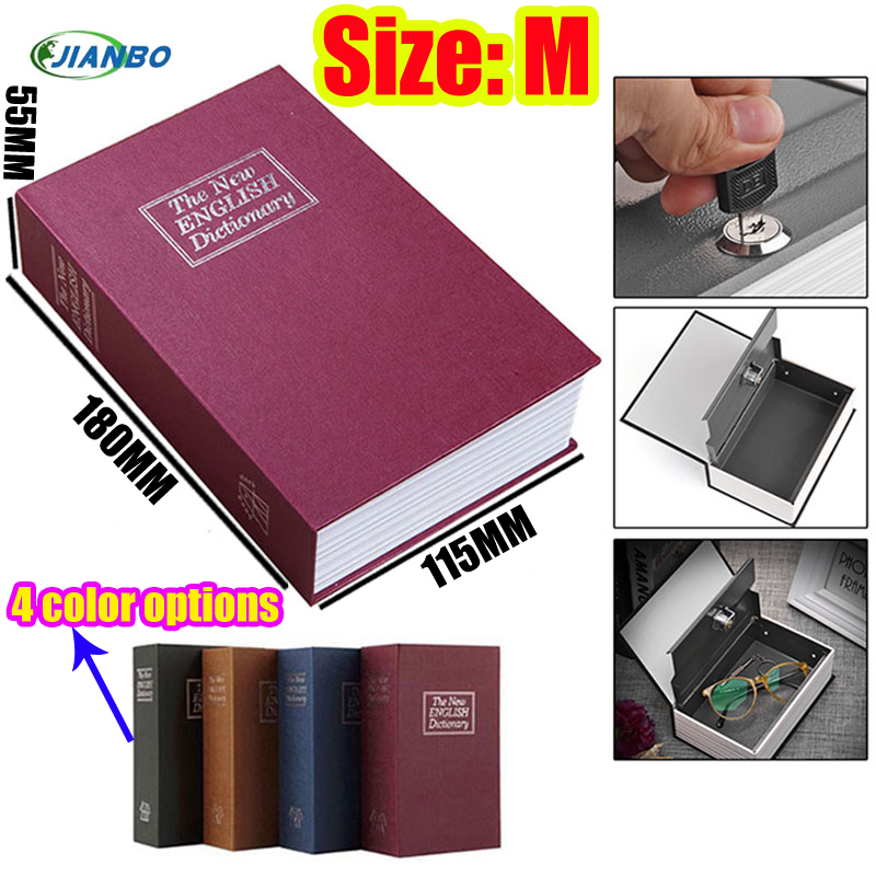 Hidden Secret Box For Kids Cassaforte Mini Piggy Bank Lock Book Safe Box Cofre Cash Storage Items Key Stash Small Safe For Money