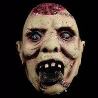 Devils Monster Latex Scary Mask Halloween Buck Teeth Ghost Mascara Terror Cosplay Prank Masquerade Fancy Costume