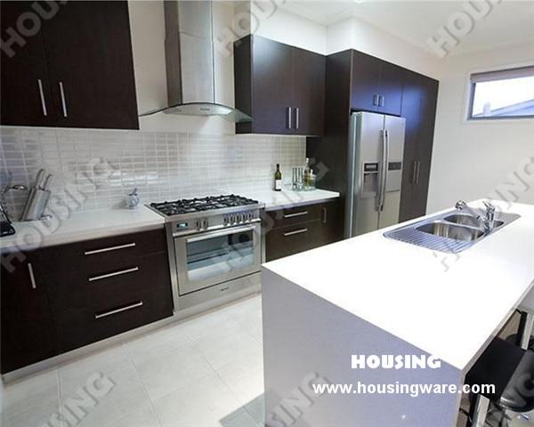Hot Sale Laminated Mdf Modular Kitchen Cabinet In Kitchen Cabinets