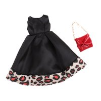 Girl Doll Clothes Dress Handbag Outfit Clothing for 1/6 Blythe Fashion Dolls Accessories Decoration Children Kids Toys Gift