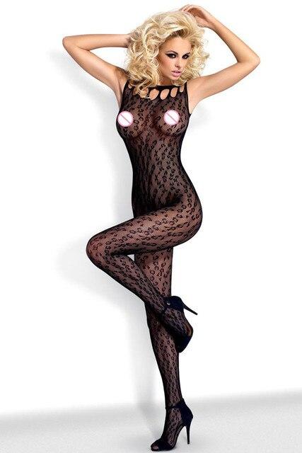 2017 Nuevo Adultos Mujer Sexy lingerie hot ropa de Dormir Sin Mangas Muy querido Floral Bodystockings Obsesivo LC79688