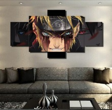 5 Panels Naruto Canvas Print Art