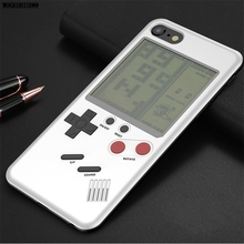 GB Gameboy Tetris Phone Cases for iPhone X 6 6s 7 7plus 8 8plus Plus Play Blokus Game Console Cover Protection Gift Case