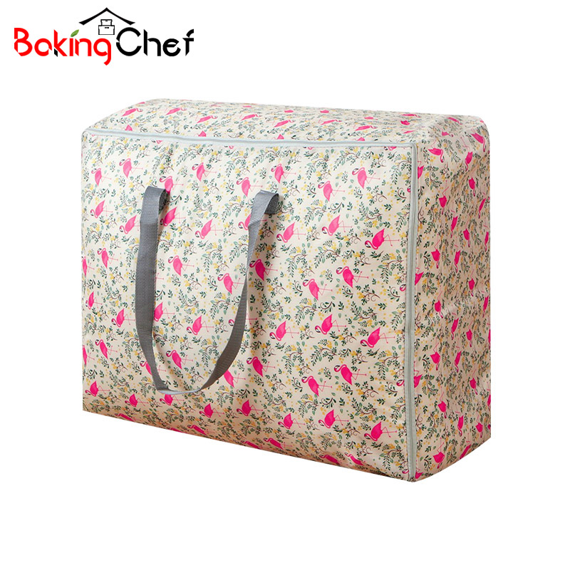 BAKINGCHEF Portable Household Quilt Storage Bags Home Clothing Blanket Luggage Wardrobe Cabinets Organizer Gear Wholesale Lot