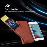 Premium PU Leather Bag For Iphone 7 Plus 6s 6 5s 5c 5 Case Business TPU