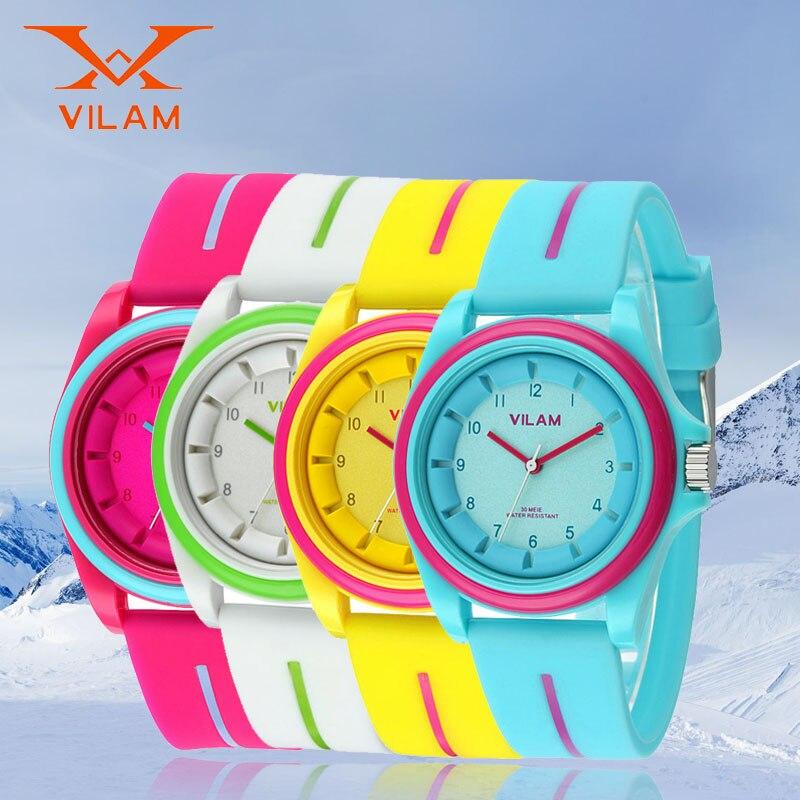 a78e5d39c419 Reloj deportivo para Mujeres Hombres Adolescentes relojes de Pulsera Reloj  de Pulsera De Plástico de Regalo de Cumpleaños Para Niños Chicas Chicos ...