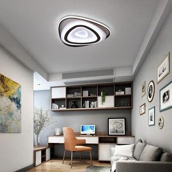 Creativas luces de techo LED acrílico triangular lámpara de ...