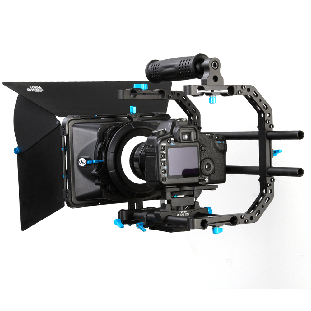 Fotga DP Series Standard Rig Set Matte Box + Top Handle with C- Bracket + 15mm Rail Rod Support Plate for Nikon Canon Sony BMCC samxinno original for asus x55a laptop motherboard rev 2 1 2 2 100% tested perfect integrated mainboard
