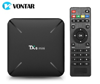 TX6 mini Smart TV BOX Android 9.0 2GB 16GB Allwinner H6 Quad Core ALICE UX HDR 4K 2.4G Wifi Google Player TX6mini Set Top Box