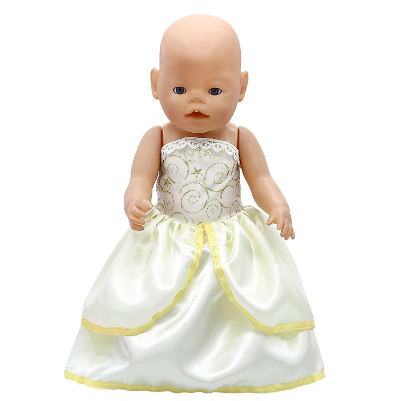 Doll Accessories Baby Born Doll Clothes Beauty Beast Belle