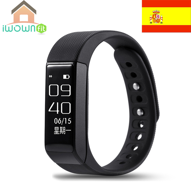 Iwownfit I5 Pro Smartband 0.96 inch OLED Screen Support Sleep Monitor Remote Camera for Android IOS Phone