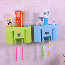 Automatic Dispenser Storage Toothpaste Racket Squeezer