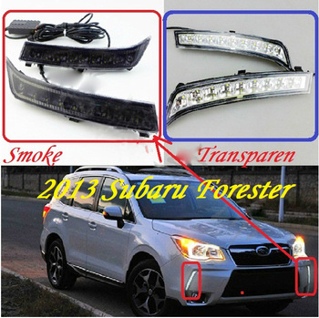 2013 2014 2015 2016year,Forester day light;car-styling,Free ship!LED,car covers,Forester fog light,loyale,2pcs,justy;Forester image