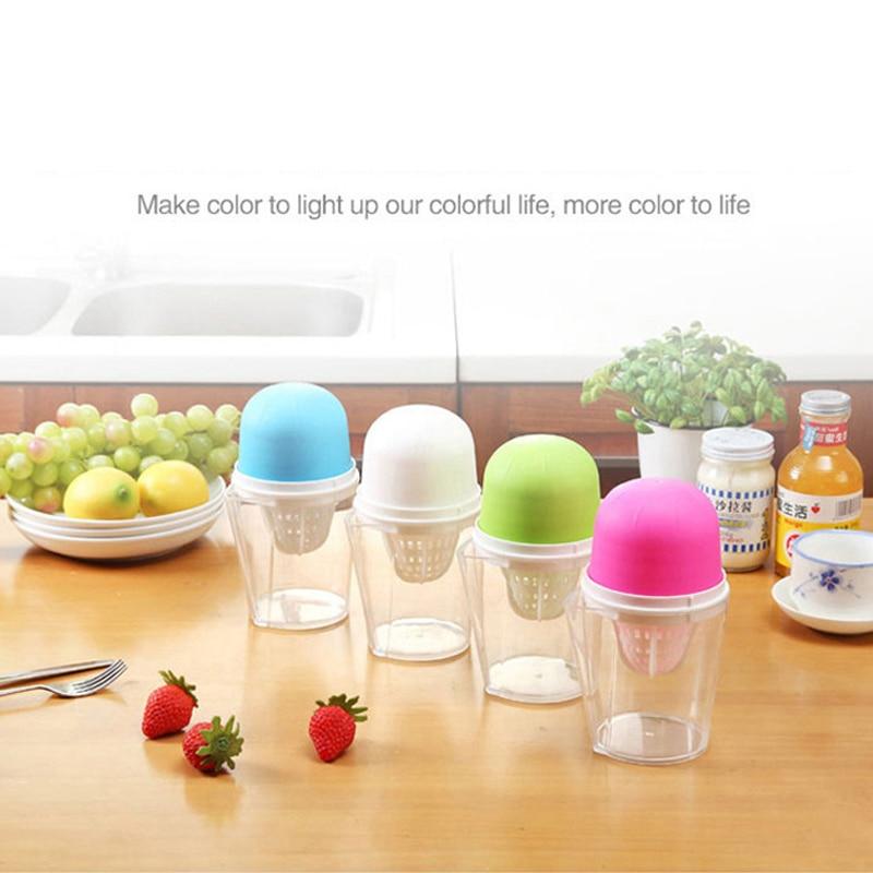 New Fruit Vegetable Tools Plastic Hand Manual Orange Juicer Kitchen Gadgets Mini