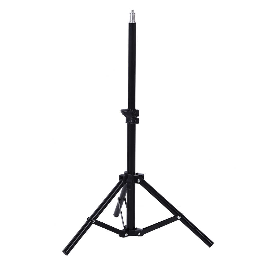 Photography Studio Adjustable 35cm-75cm Light Stand Photo Tripod For Camera Photo Lamp Bracket Holder Softbox