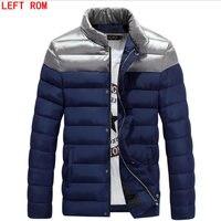 Autumn Winter Man Duck Down Jacket Ultra Light Thin Plus Size Spring Jackets Men Stand Collar