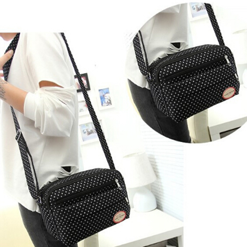 Fashion New Arrival Women Shoulder Dot Print Bags New Fashion Ladies Messenger Bags Casual Small Women Casual Bag