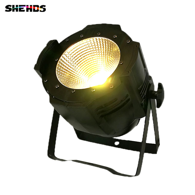 Aluminium LED Par COB 100W 6in1 Stage Lighting RGBWAUV DMX512 Controller Blinder Light Strobe Flash Effect For DJ Theater Show blinder led cob 4x100w led blinder light 400w dmx512 2 channels cold warm white blinder stage effect lighting dj party led lamp
