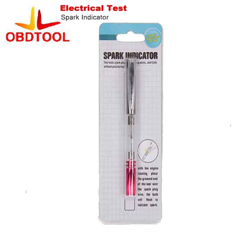 Auto Spark Plugs Wires Coils Ignition Spark Indicator Diagnostic Tool Car Electrical Test Tester iridium spark plugs 4 pack