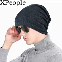 XPeople Fleece Lined Beanie Hat Daily Cotton Warm Stretchy Soft Hats for Men Women Serious Beanies