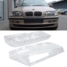 Hot Sell Car Headlight Glass lampshade Car Headlight Lenses Lamp Cover Clear For BMW E46 3 Series 1998-2001 Car Accessories