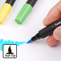 12 24 36 Colors Art And Graphic Drawing Manga Dual Tip Brush And Fine Sketch Brush