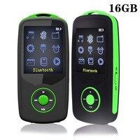 16 GB Lettore MP3 Bluetooth RUIZU X06 HIFI Lettore Musicale Sport Funzionamento Wireless Supporto Max 64 GB Tf con Radio FM verde