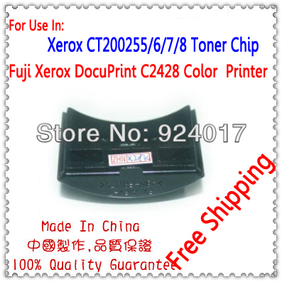 Тонер чип для Xerox DucoPrint C2428 принтера, для Xerox 2428 CT200379 CT200381 CT200385 CT200383 тонер чип, для Xerox C2428 тонер
