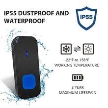 Беспроводной дверной звонок Комплекты водонепроницаемый пылезащитный IP55 Легкая установка для домашней безопасности US Plug XHC88
