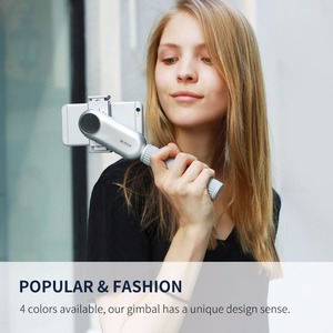 Image 1 - Wewow Fancy Pro Smartphone Mobile Handheld LED Light Gimbal Stabilizer Wholesale