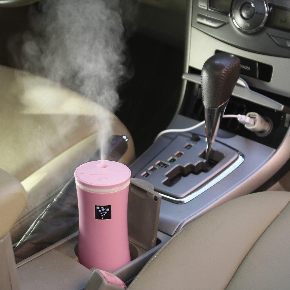 New Cup Negative Ions Car Air Humidifier Air Purification USB LED Light Diffuser Mist Maker Fogger Кубок