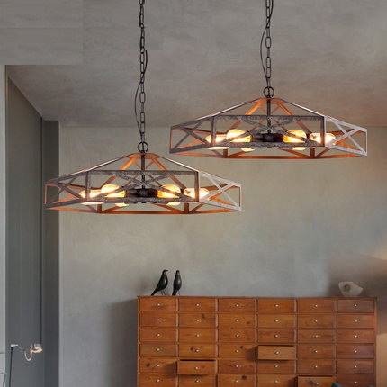Industrial Loft Style Iron Antique Lamp Edison Vintage Pendant Light Fixtures Hanging Droplight For Dining Room Home Lighting retro loft style iron cage droplight industrial edison vintage pendant lamps dining room hanging light fixtures home lighting