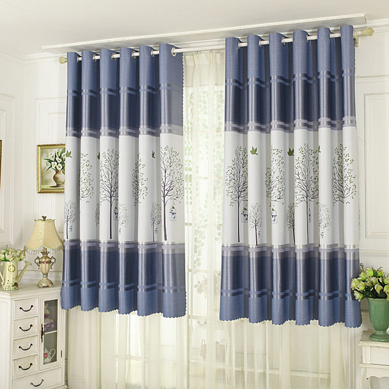 Modern Short Curtains for The Kitchen Window Blackout ...