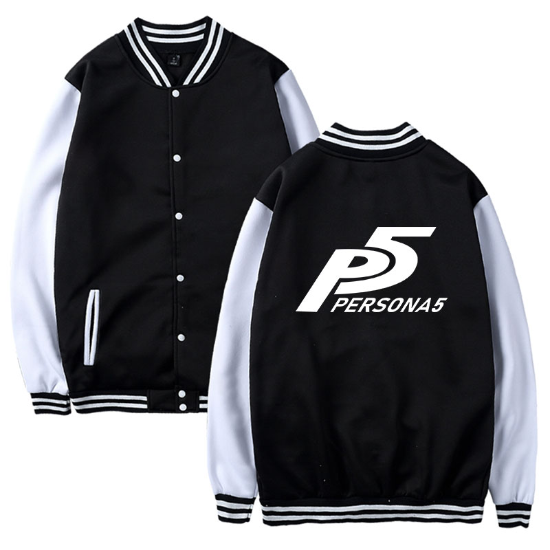Two Step Persona 5 Funny Game Print P5 Jacket Coat
