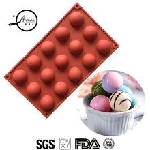 Atekuker полусфера форма силиконовые формы шоколада формы для сладостей конфеты печенье торт формы выпечки инструменты