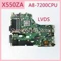 X550ZA материнская плата REV2.0 для ASUS X550ZA A8-7200CPU материнская плата для ноутбука X550 X550Z X550ZE материнская плата полностью проверена