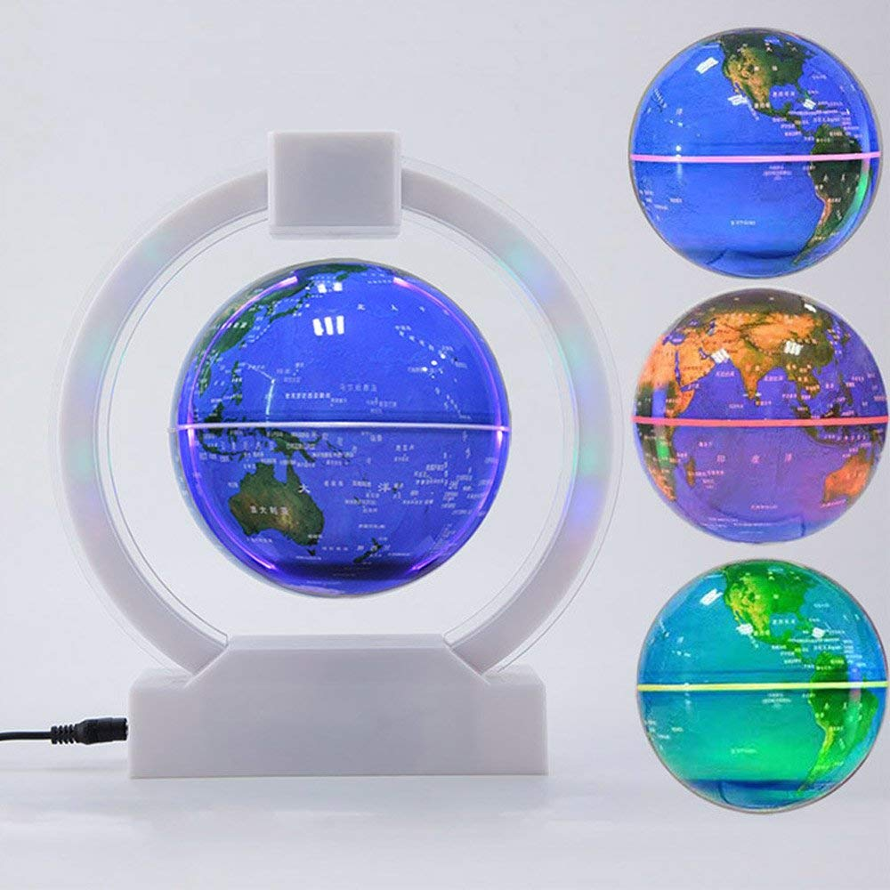 Sailboat 3D Night Light Ship Modern100~240v Night 7 Color change LED desk table light lamp (Color: Multicolor) 3d visual 7 color change scorpio shape touching led night light