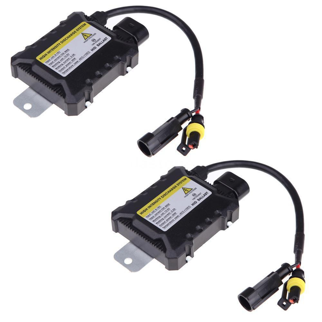 2Pcs 35W Digital HID Xenon Conversion Ballast Replacement Slim All Bulbs