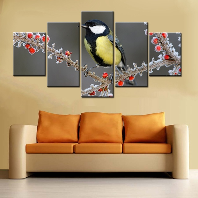 Poster HD Printed Painting Canvas Home Decor Print 5 Panel Beautiful ...