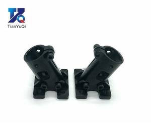 Image 2 - TianYuQi Multi axis uav parts aluminum alloy carbon tube connection  foot mount fixing parts  16mm 20mm 22mm 25mm black